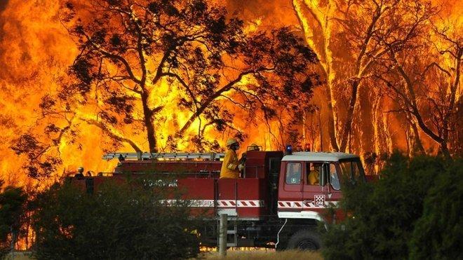 Obří požáry v Austrálii