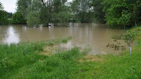 Situace na řekách se po vytrvalých deštích uklidňuje, uvedli hydrologové