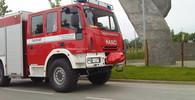 Hasiči bojují s rozsáhlým požárem lesa u Plzně. Je povolán i vrtulník - anotační foto