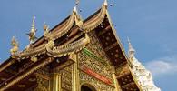 Opilým turistům hrozí v Thajsku vězení za graffiti. Zachytila je kamera - anotační obrázek