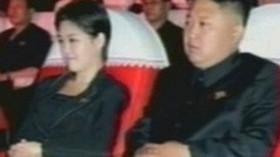 Kim Čong-un a jehopak manželka