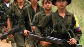Dětští ozbrojenci v Kolumbii