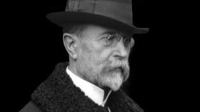 Tomáš Garrigue Masaryk, roku 1918 se stal prvním prezidentem Československa