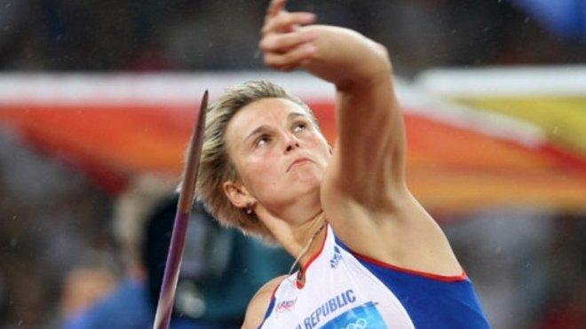 Oštěpařka Barbora Špotáková