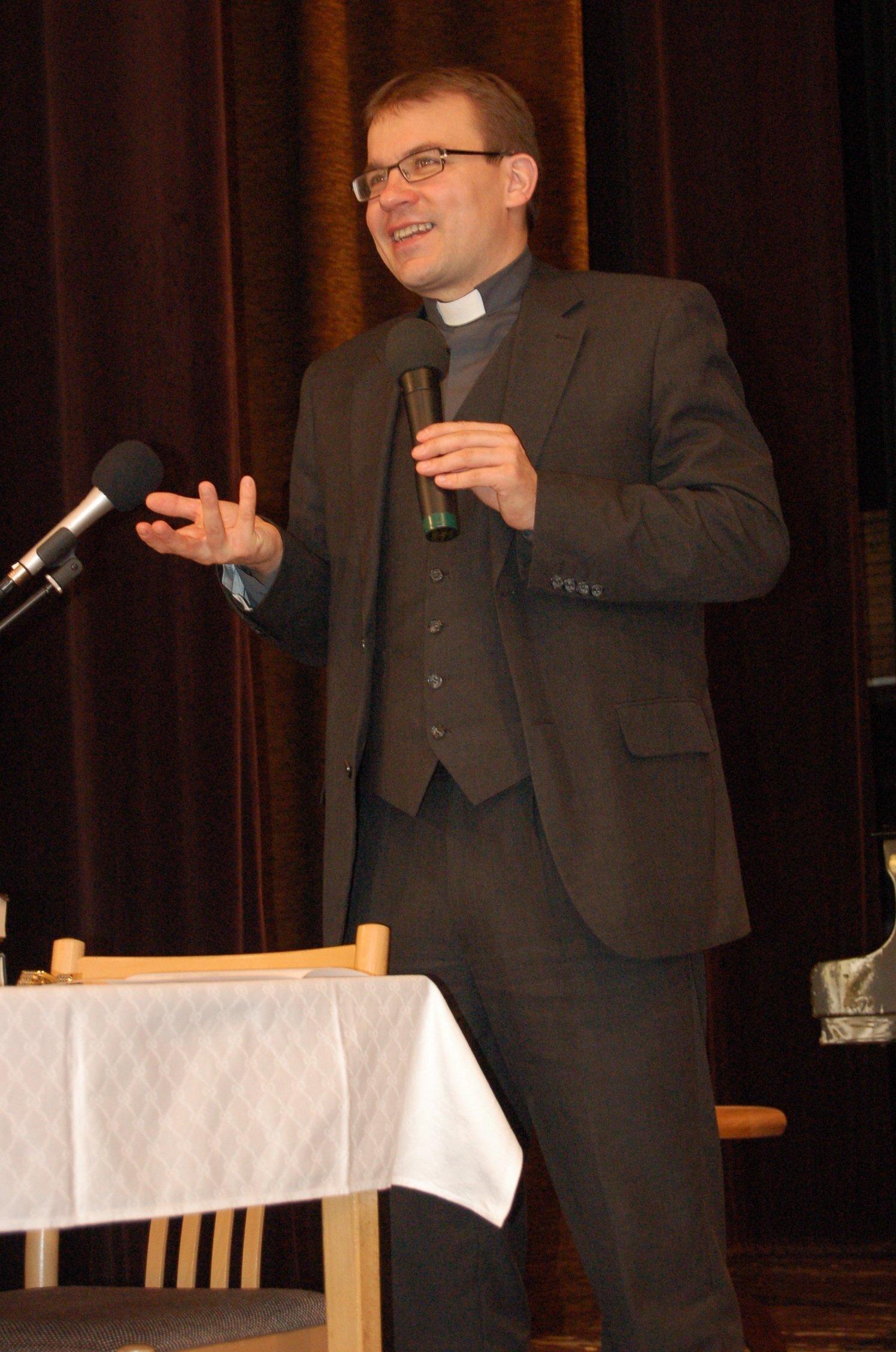 Mons. ThLic. Tomáš Holub, Th.D.