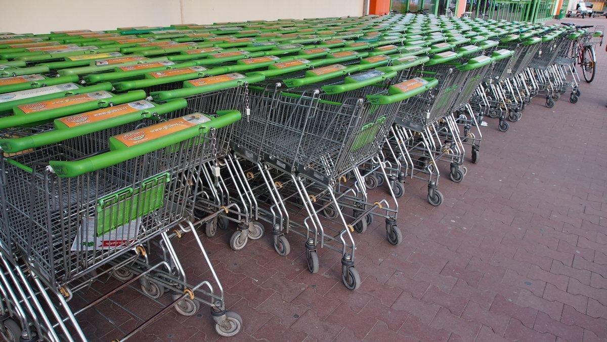 Cestování za nákupy do Německa je opět možné. S jednou výjimkou - anotační foto