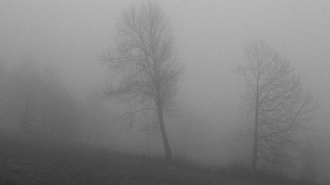 Počasí, mlhy