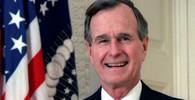 George Herbert Walker Bush, bývalý 41. prezident Spojených států v letech 1989–1993.
