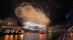 Nový rok v australském Sydney