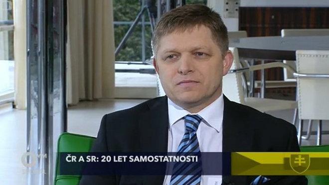 Robert Fico hostem novoročních Otázek Václava Moravce