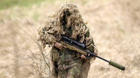 Voják, ilustrační fotografie