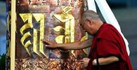 Tibetský chrám Džókhang zachvátil požár - anotační obrázek