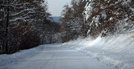 Sněžení a další propad teplot. Počasí na noc a středu 13. listopadu - anotační foto