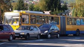 Silniční provoz ve Zlíně