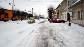 Zima, ilustrační fotografie