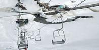 Ve Francii se uzavírá oblast, v Itálii naopak otevírají lyžařské areály - anotační foto
