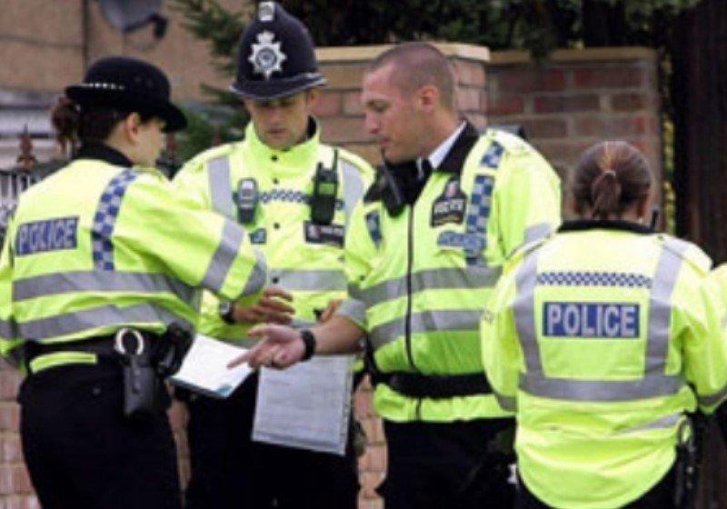 Policie Velká Británie