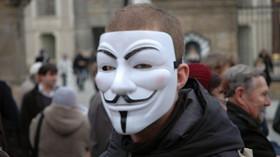 Sympatizant hnutí Anonymous