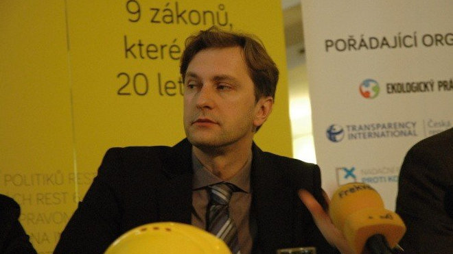 David Ondráčka, exředitel Transparency International