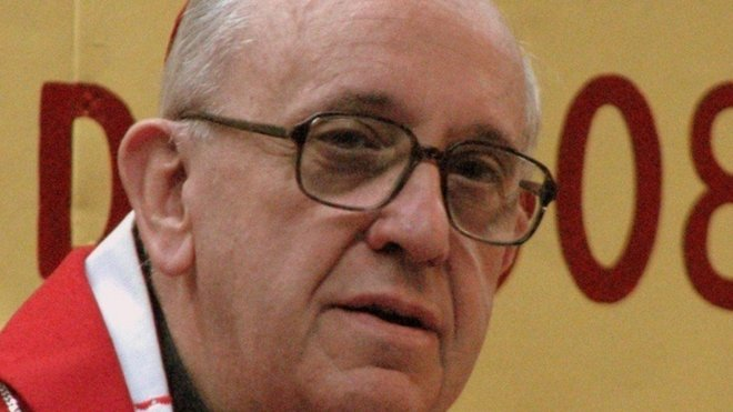 František, vlastním jménem Jorge Mario Bergoglio SJ (* 17. prosince 1936 Buenos Aires, Argentina), je 266. papež katolické církve, suverén státu Vatikán, jehož zvolilo konkláve dne 13. března 2013.