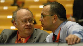 Jan Kavan s Jaroslavem Foldynou