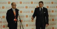 Bohuslav Sobotka a Rober Fico