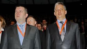 Jan Hamáček /ČSSD/ a Jiří Diesntbier /ČSSD/