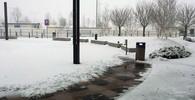 Brno přepadla na konci zimy pořádná sněhová vánice