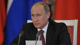 Vladimír Putin, ruský prezident