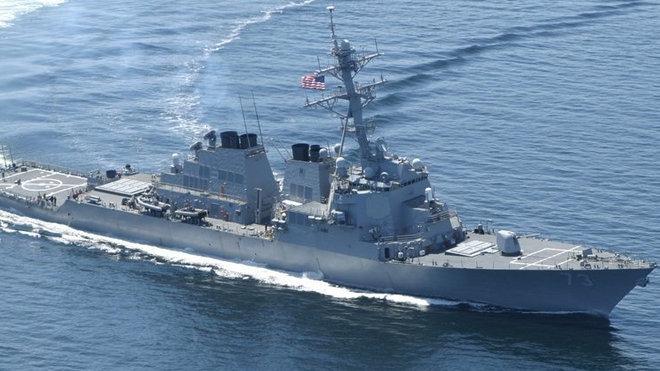 USS Decatur, U.S. Navy, ilustrační foto