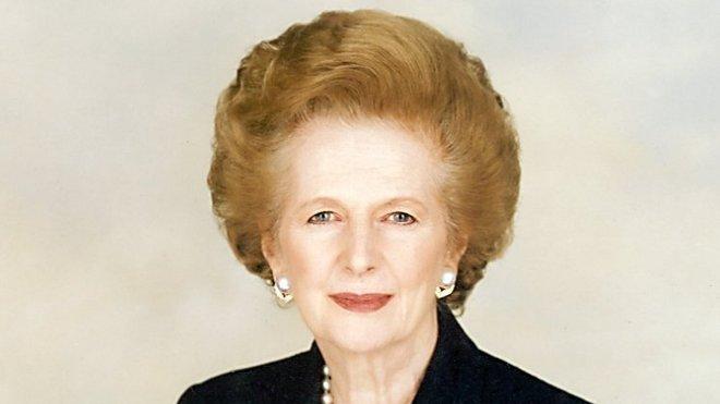 Margaret Hilda Thatcherová, baronka Thatcherová, nepřechýleně Thatcher, LG, OM, PC, FRS (roz. Robertsová; 13. října 1925 Grantham – 8. dubna 2013 Londýn[2]), byla britská politička, předsedkyně britské vlády a Konzervativní strany. Díky svojí nekompromisnosti a rozhodnosti získala přezdívku Železná lady.