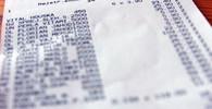 Účtenky, ilustrační fotografie