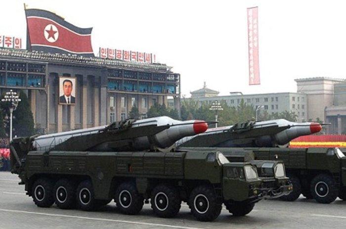 Severokorejské rakety BM25 Musudan