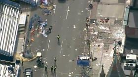 V cíli bostonského maratonu došlo ke dvěma explozím