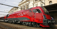 ČD a ÖBB představují Railjet v České republice