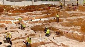 Izraelští archeologové objevili velký kamenolom z biblických dob