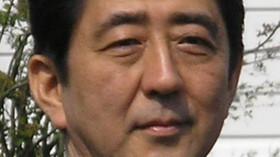 Šinzó Abe, japonský politik a předseda vlády.