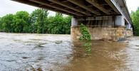 Hladiny řek v Beskydech se vracejí k normálu, déšť dál zeslabuje - anotační foto
