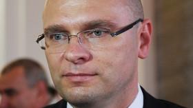 Richard Sulík, slovenský ekonom, podnikatel, politik a zakladatel pravicově-liberální politické strany Sloboda a Solidarita (SaS).