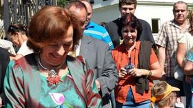 Livia Klausová v Lánech