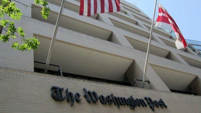 Budova The Washington Post ve Washingtonu, D.C.