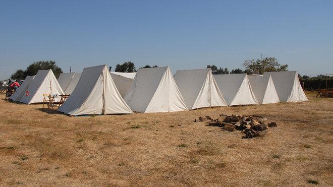 Tábor, ilustrační fotografie