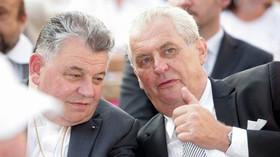 Dominika Duku má s prezidentem Zemanem pozitivní vztah