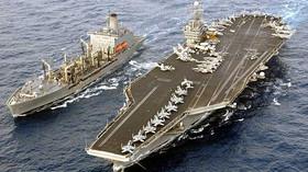 Rusko v nebezpečí? Letadlová loď USA se vydala za polární kruh - anotační foto
