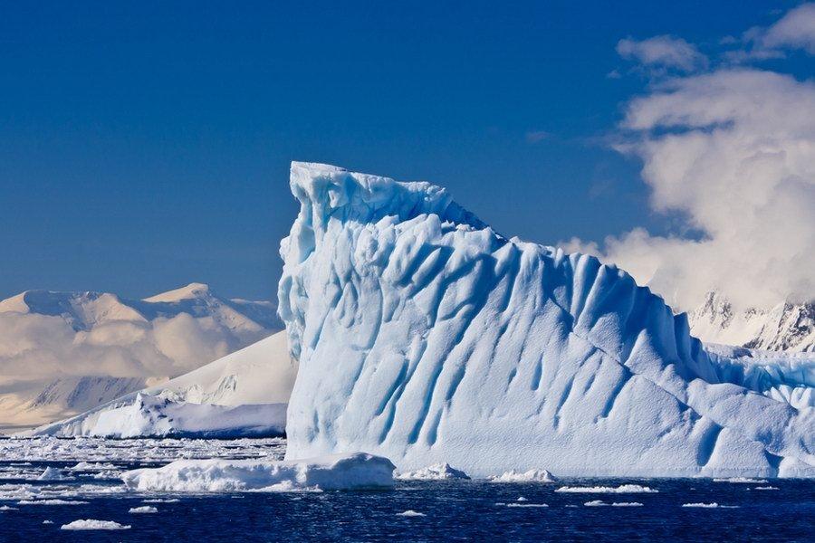 Ledovec, Antarktida