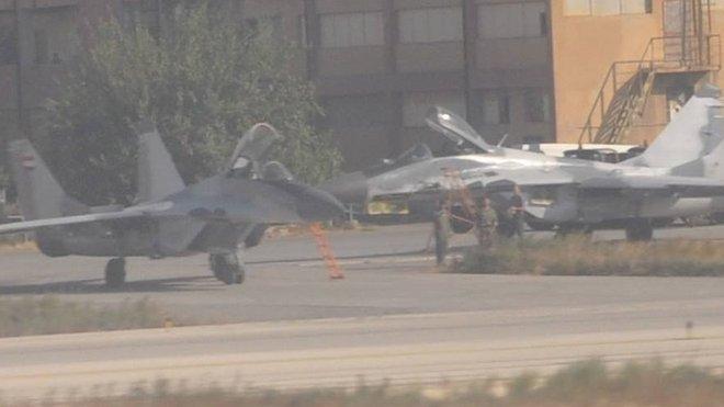 Syrské letectvo se připravuje k akci
