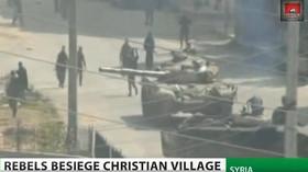 Islámští rebelové zaútočili na křesťanské město Maaloua