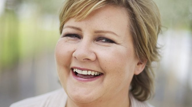 Šéfka norské Konzervativní strany Erna Solbergová
