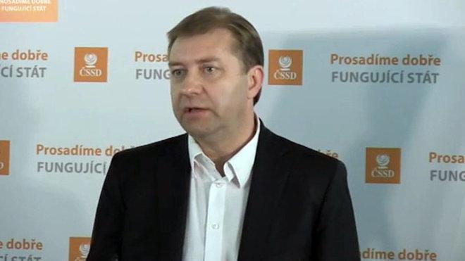 Roman Sklenák /ČSSD/, stínový ministr práce a sociálních věcí