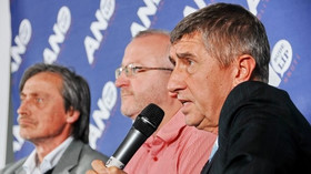 Hnutí ANO v Brně: Martin Stropnický, Radim Jančura a Andrej Babiš